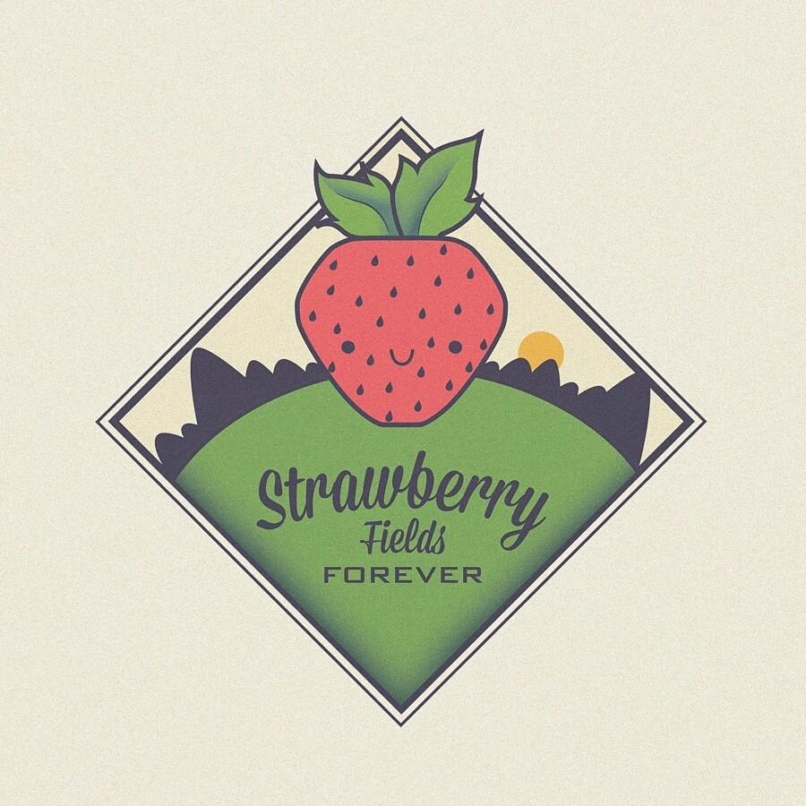 Logo // Strawberry fields forever