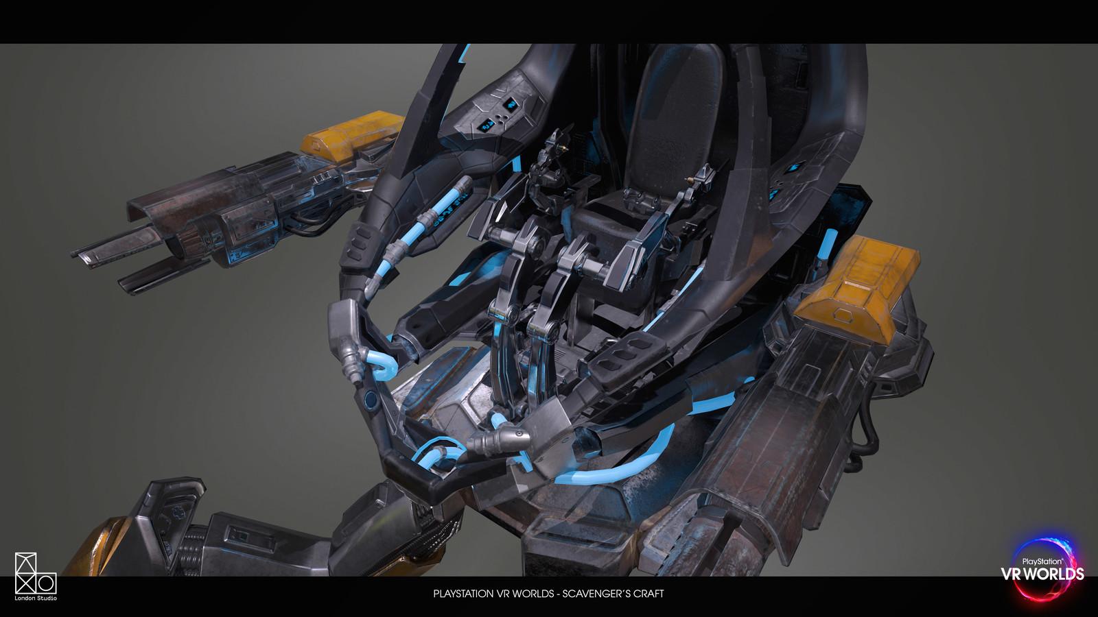 VRWORLDS Scavengers Odyssey  - Vehicle Design