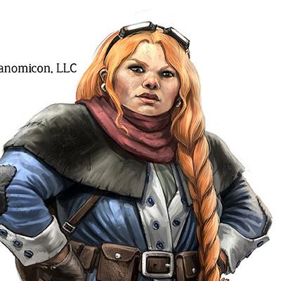Miguel regodon harkness tales of arcana dwarf female copy