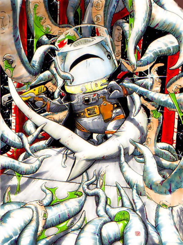 Thomas o halloren thresher vs tentacles by dogmeatlives d7kix8q