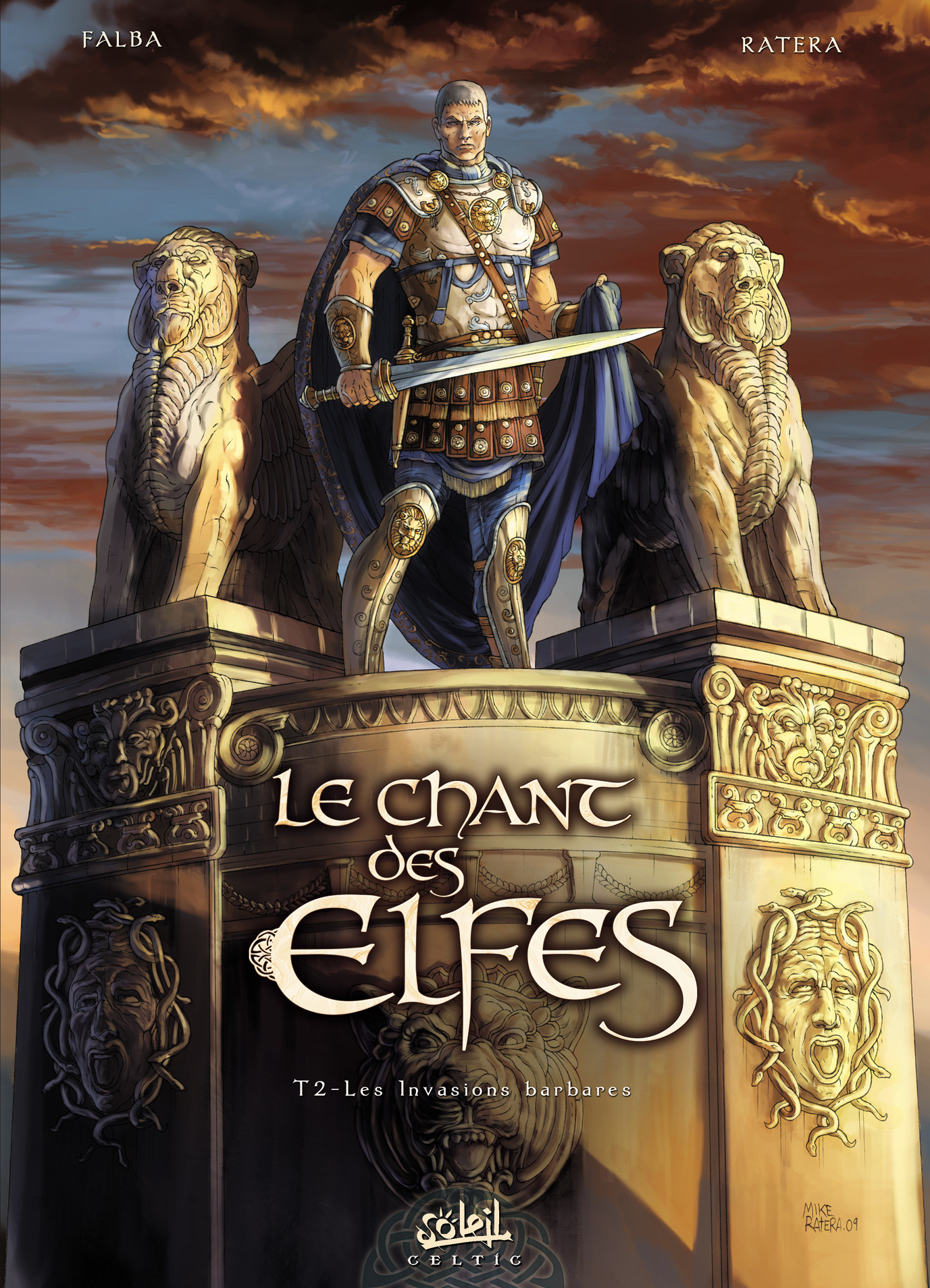 Mike ratera chant des elfes t2 cover logo