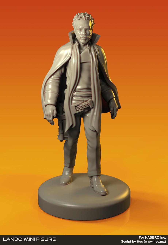 Lando Miniature
