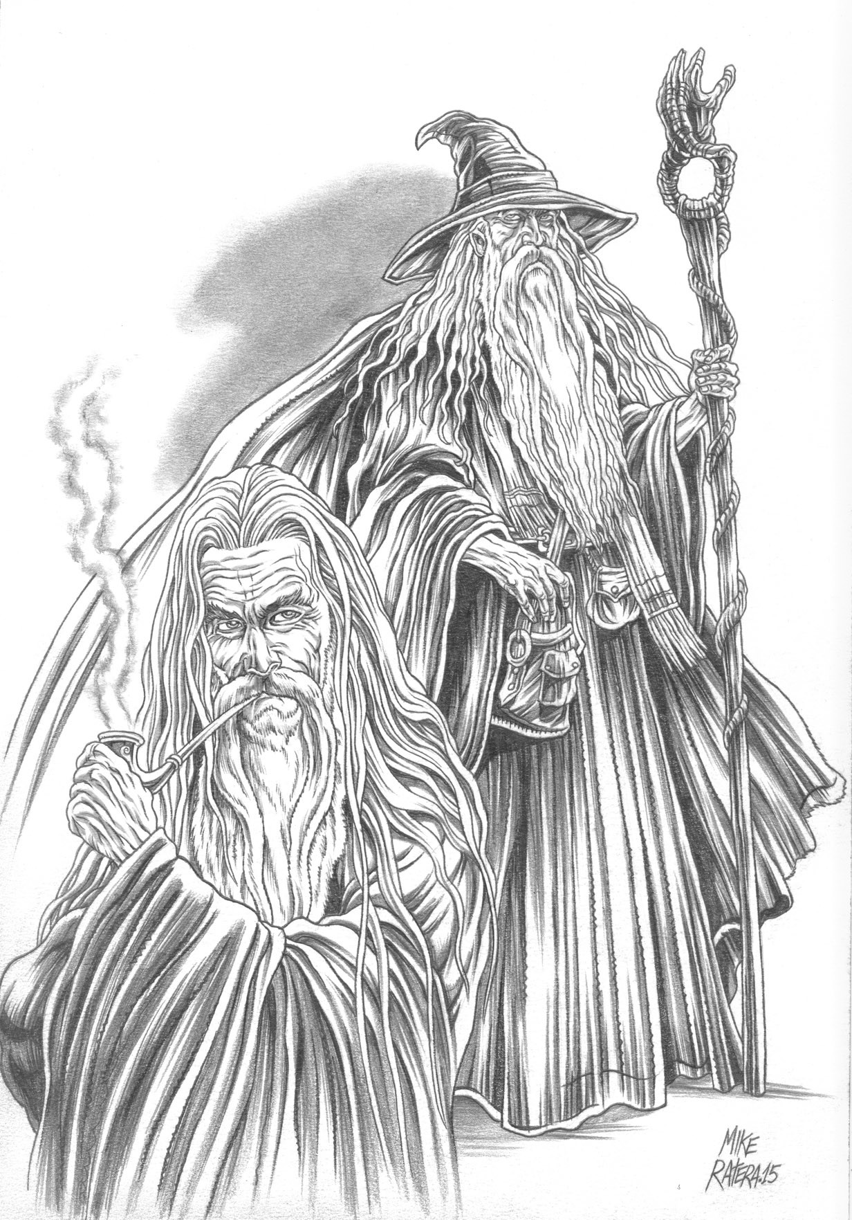 Mike ratera lotr gandalf