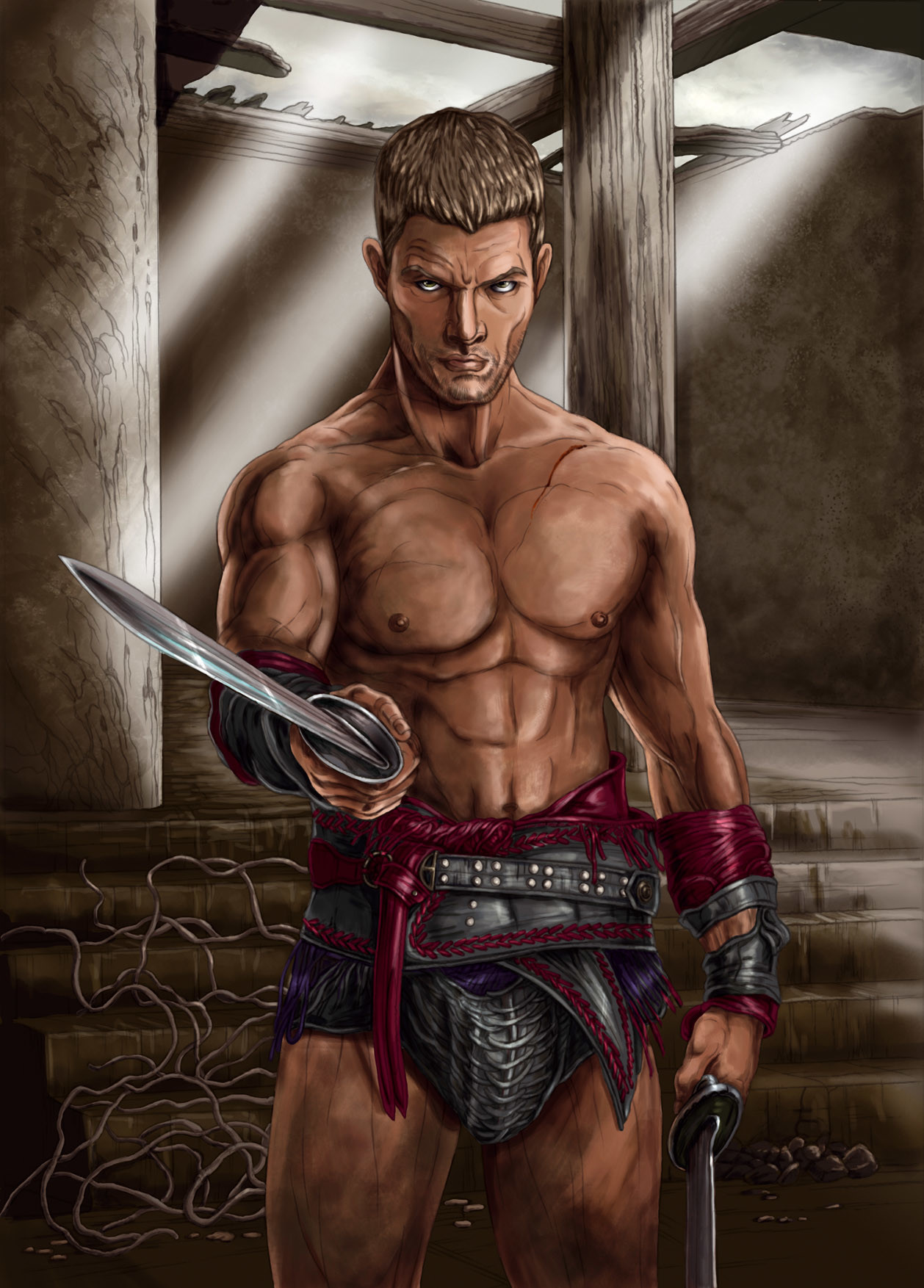Mike ratera spartacus vengeance color 1