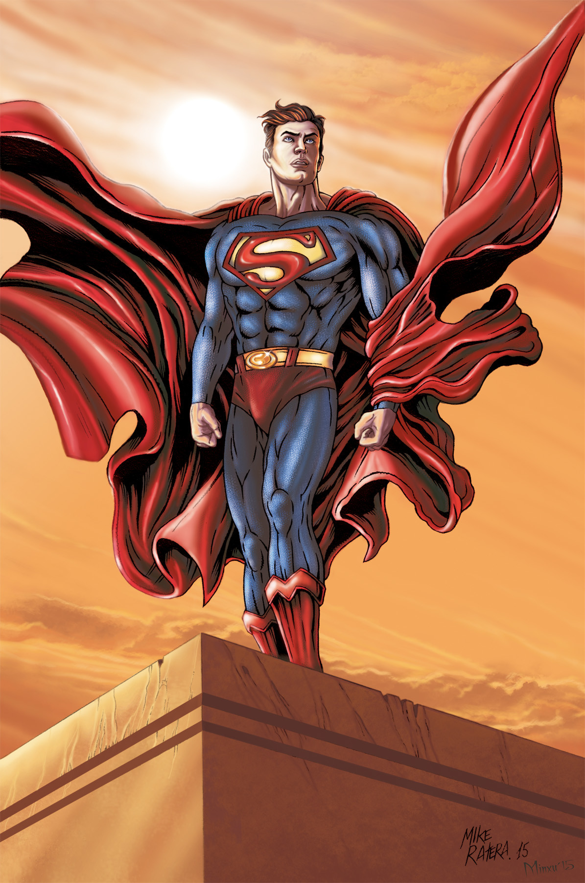 Mike ratera superman color