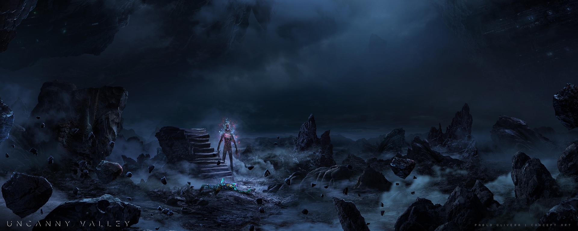 Alien VR background