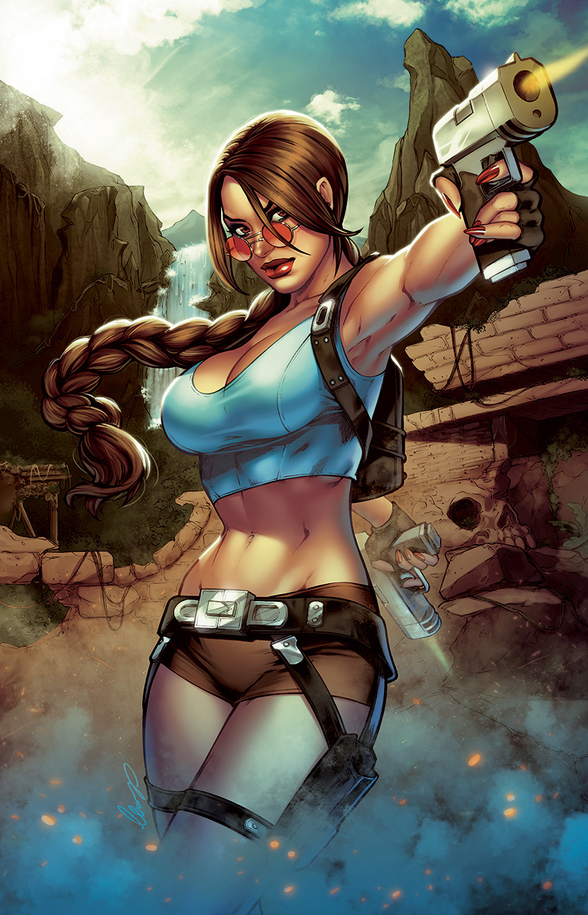 Elias chatzoudis lara croft by elias chatzoudis dc0c66i