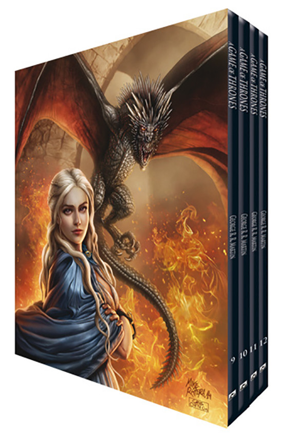 Mike ratera daenerys box cover edition