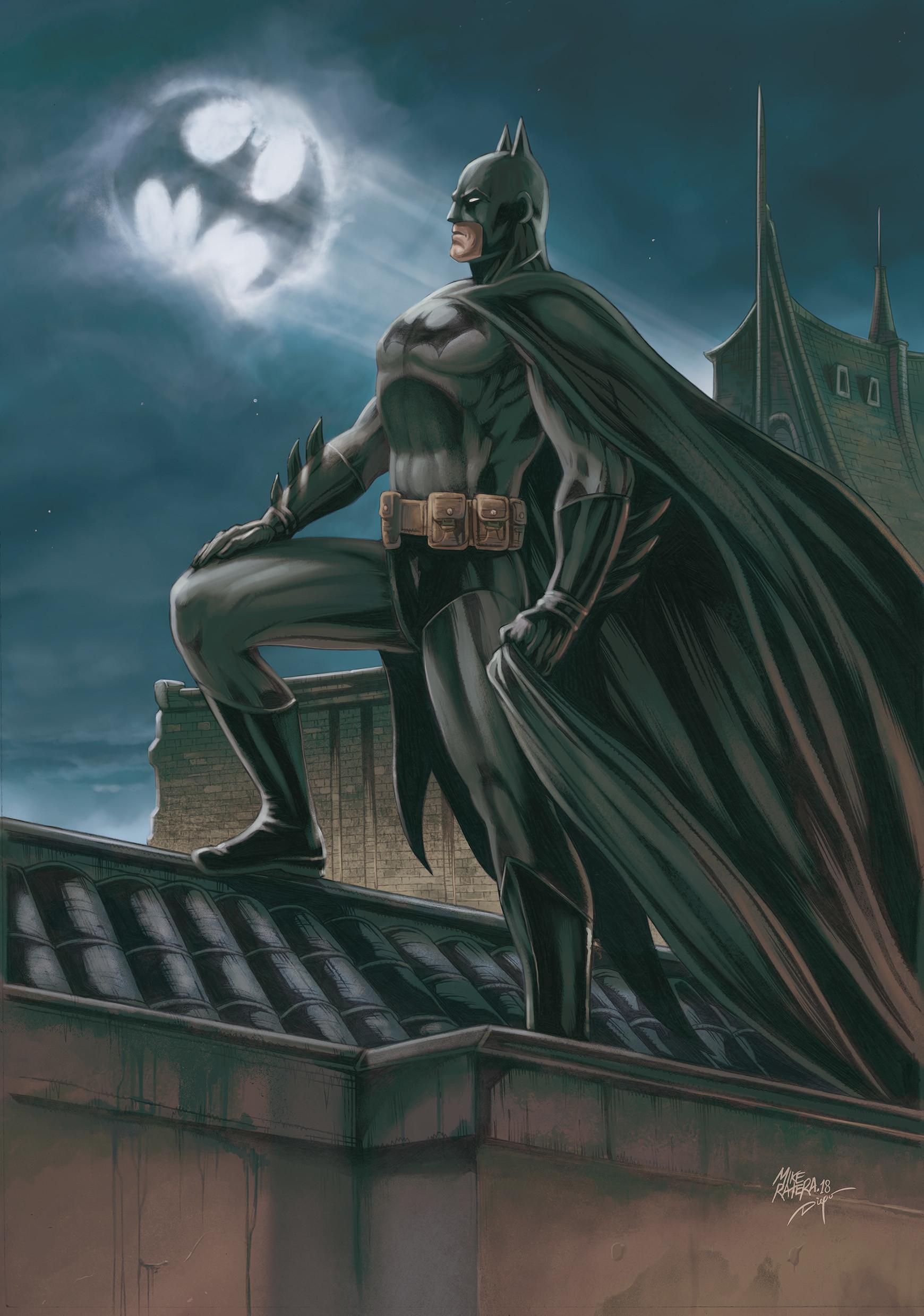 Mike ratera batman 01 a3 color