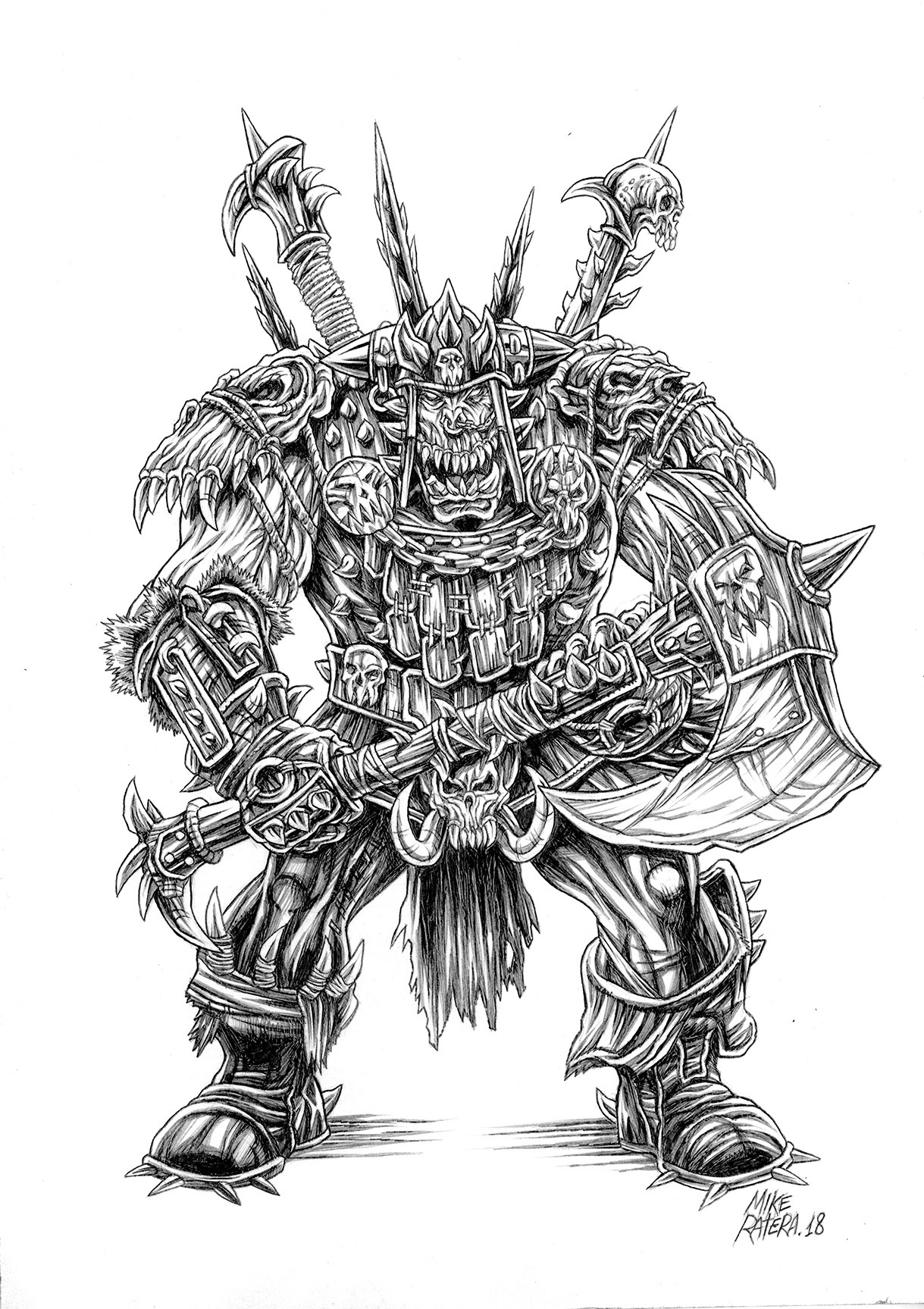 Mike ratera total war warhammer orc 2 3
