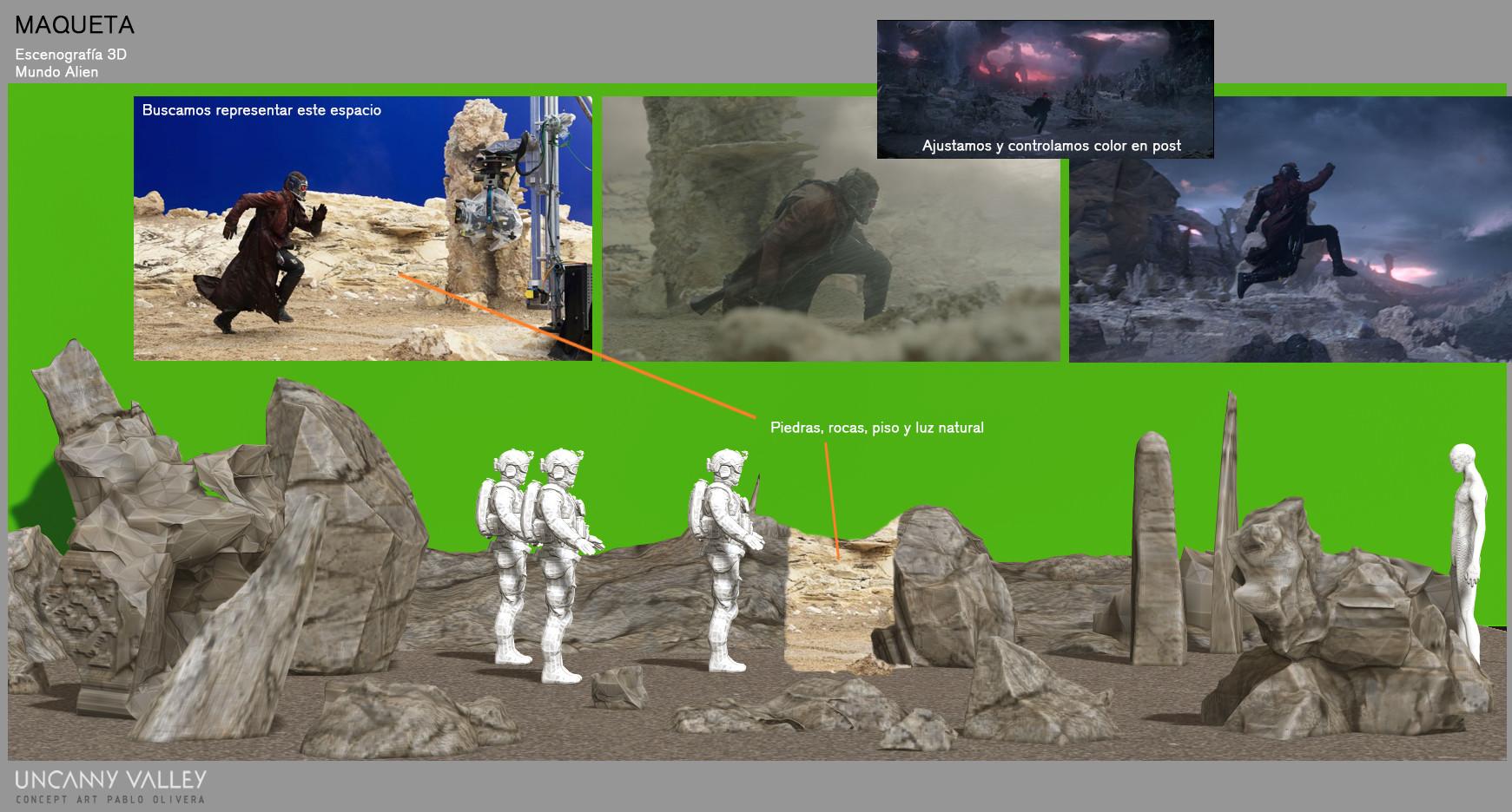 Pablo olivera set design maqueta 3d mundo alien 04