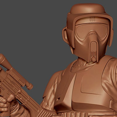 Gregory callahan scouttrooper minibust gg 1