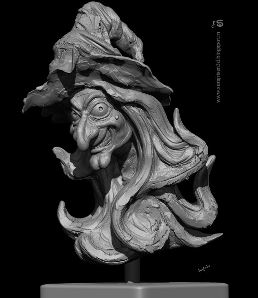 Surajit sen daayan speed sculpt surajitsen sculpt wip