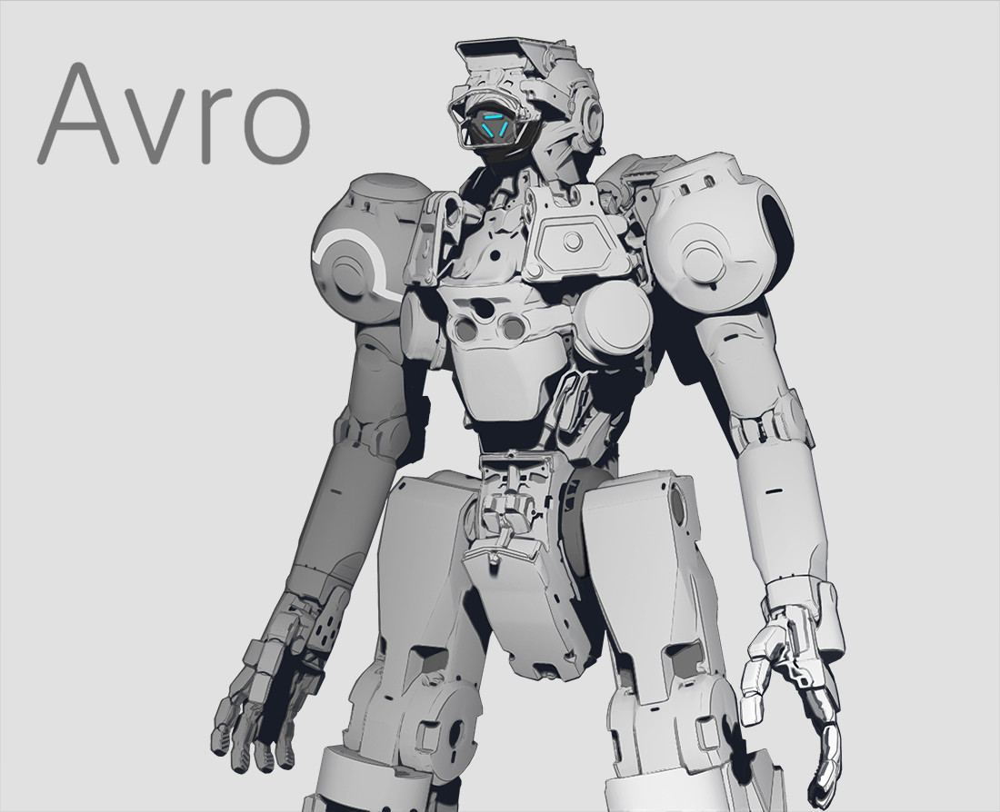 Min seub jung robot 03