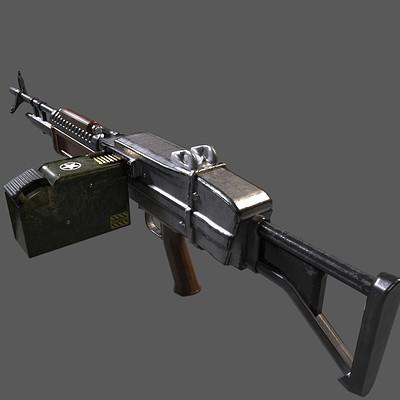 Andrew wilkins heavy gun m 267 lmg standard