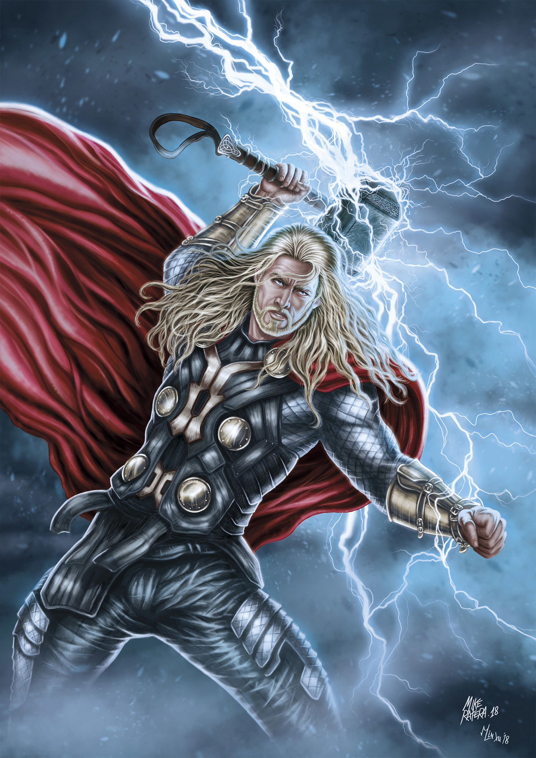 Mike ratera thor 1 a3 color