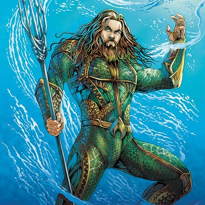 Mike ratera aquaman 1 a3 color