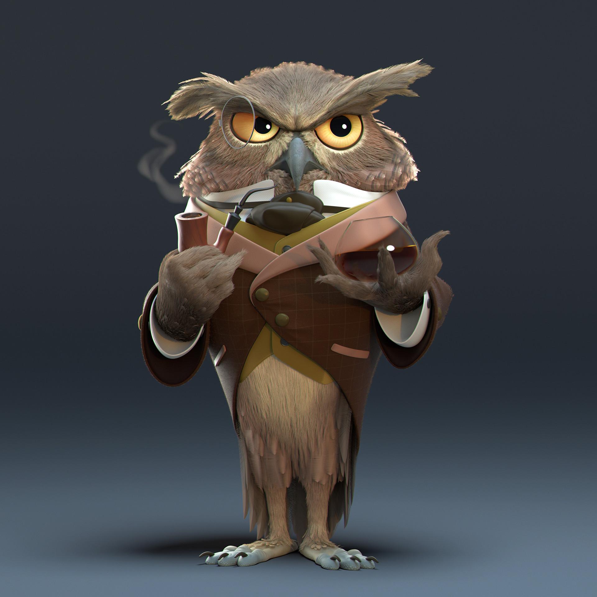 Javier diaz owl second view v001