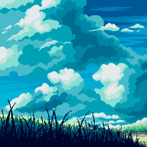 Pixel illustration #01 + Tutorial