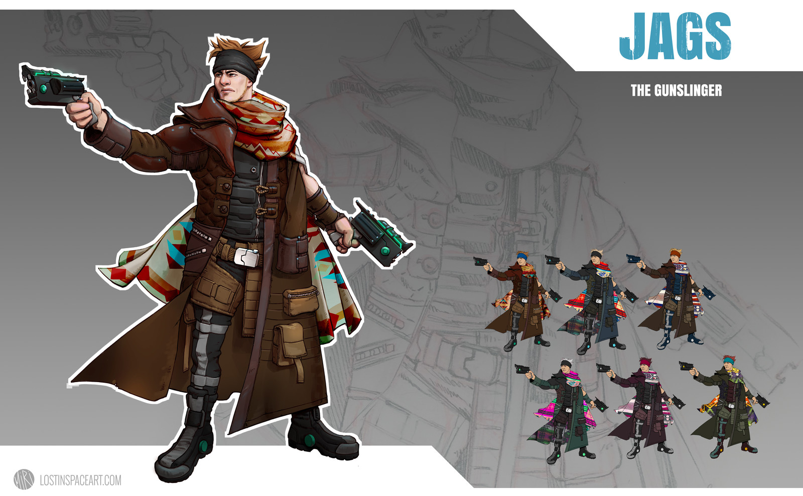 Character Design: The Gunslinger