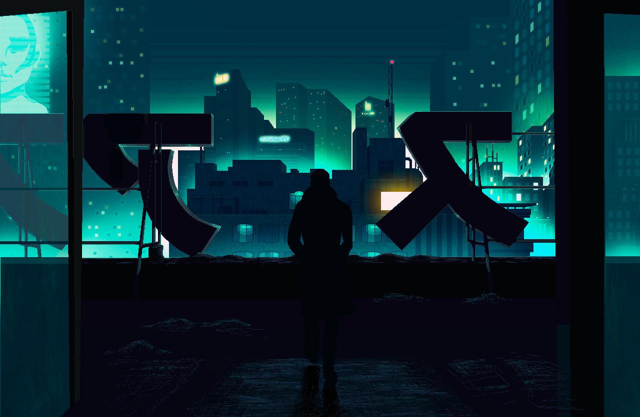 Pixel Fan art #01 // Blade Runner 2049