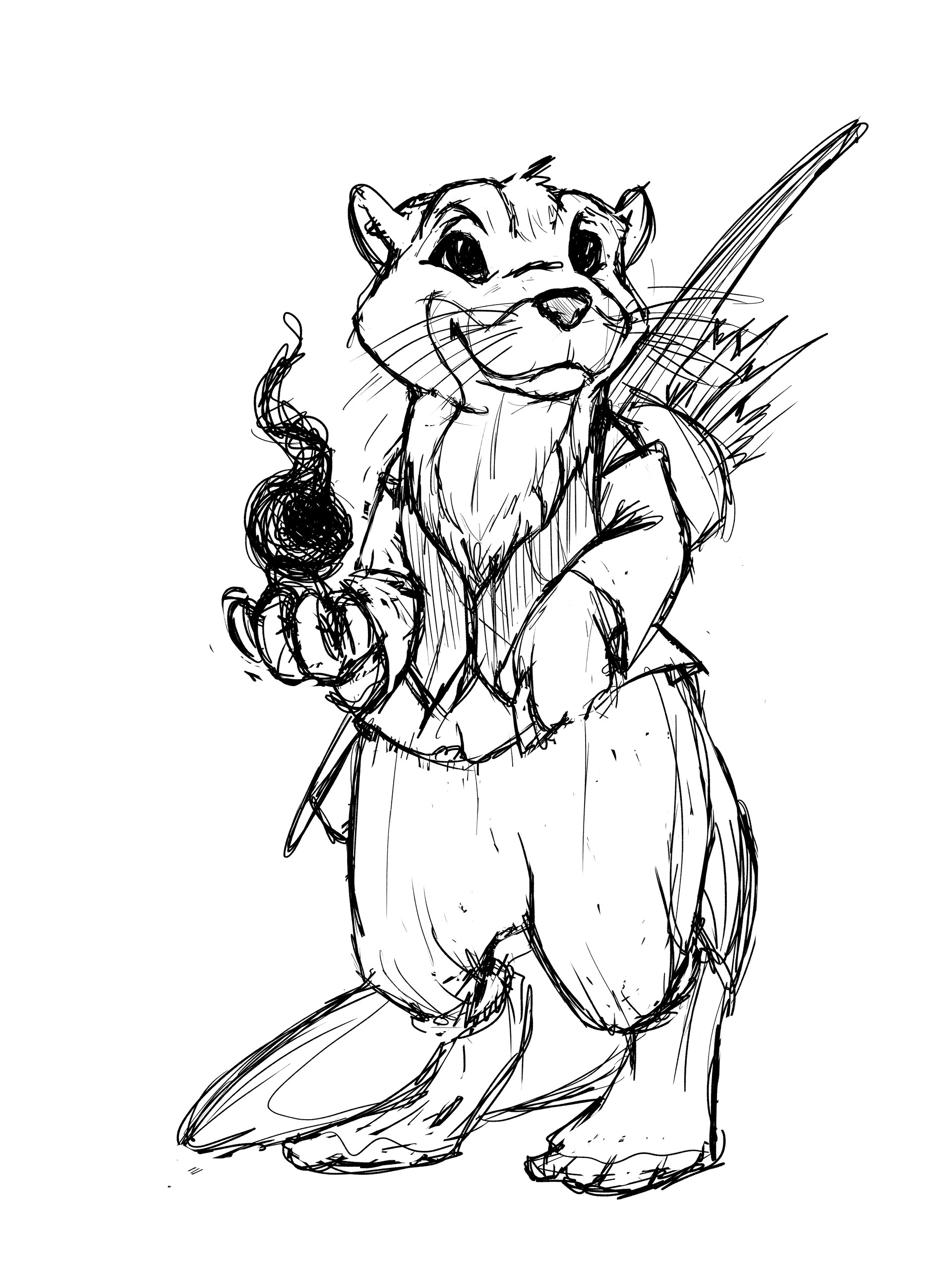 Otterfolk Rough Sketch