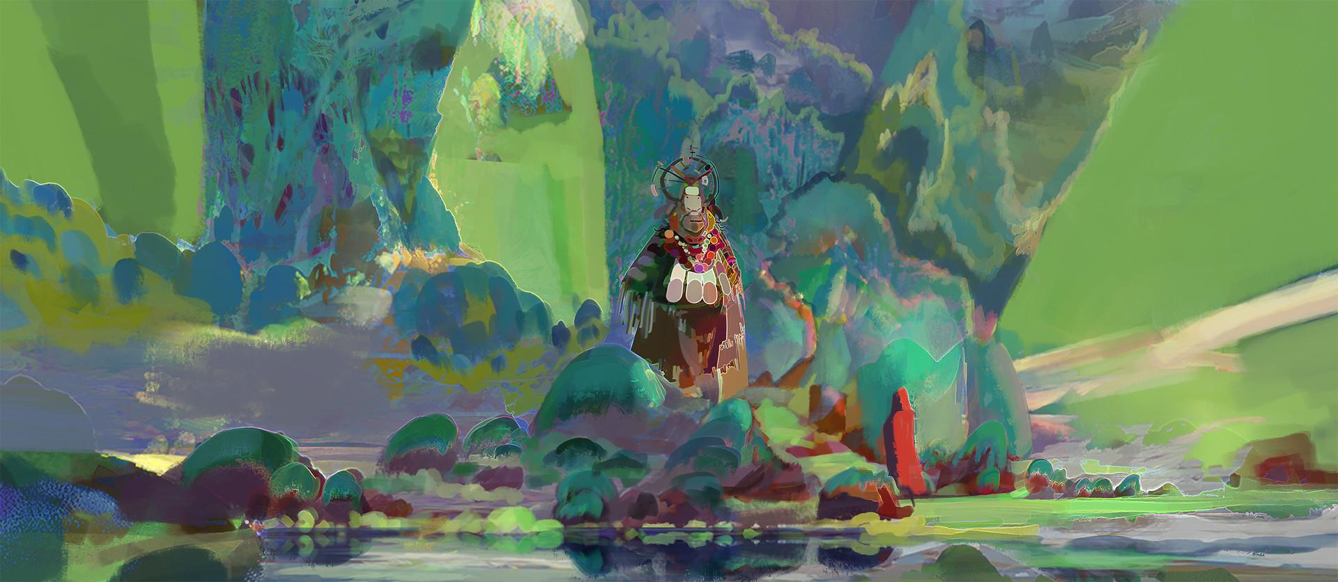 Nicodemus john mattisson forest shaman