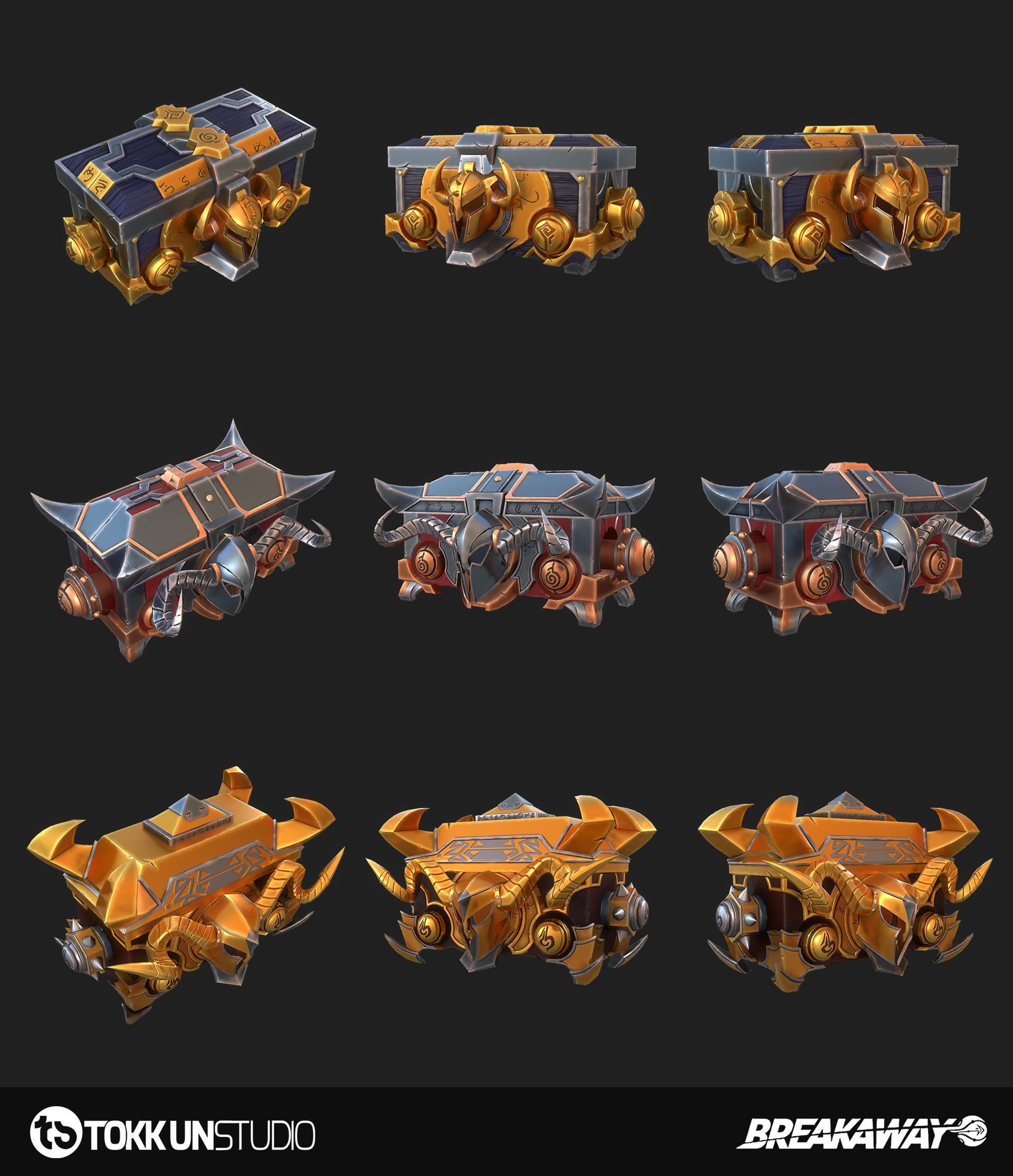Tokkun studio tokkun breakaway chests