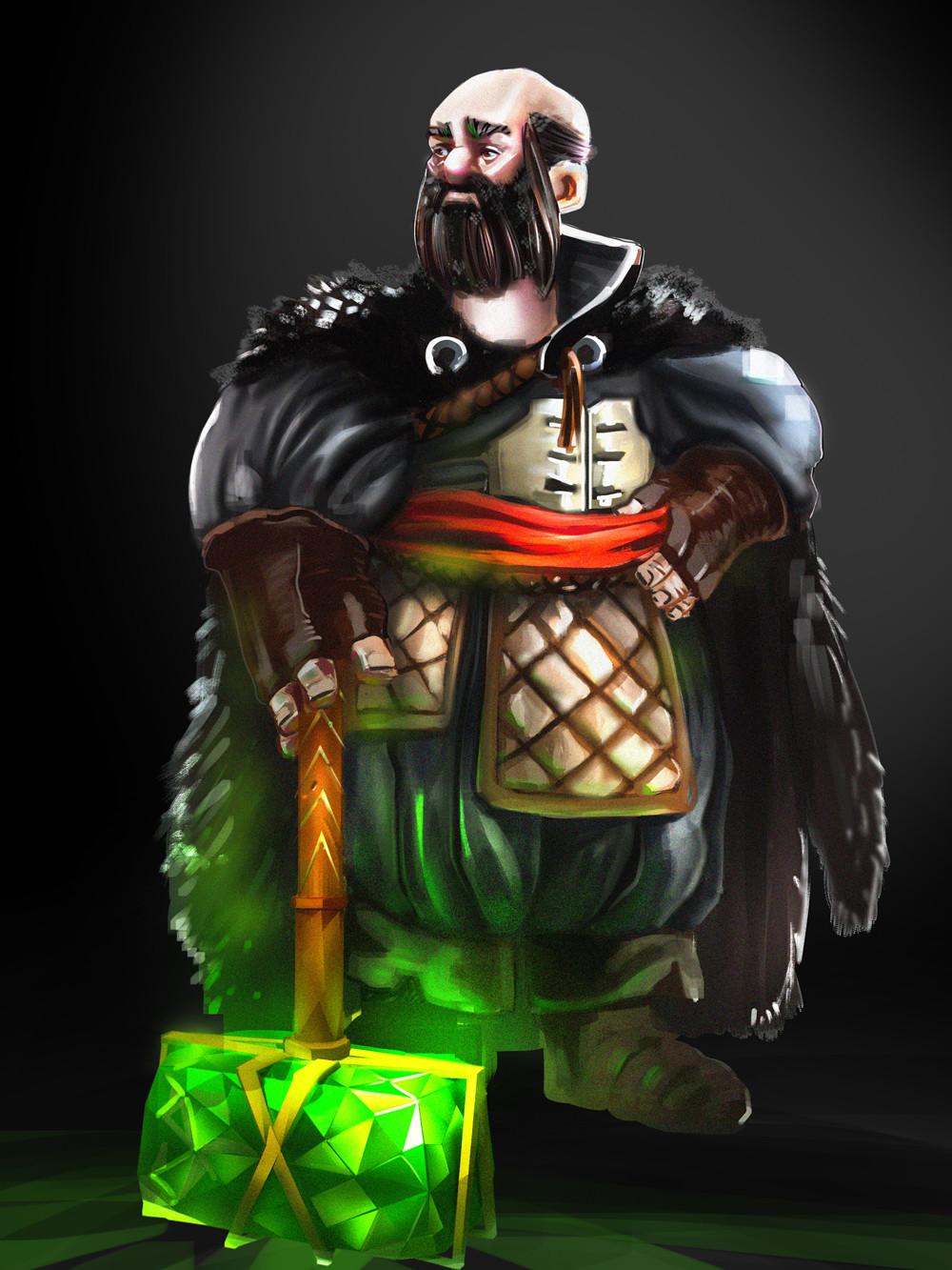 Ramasses romero dwarf blackbg