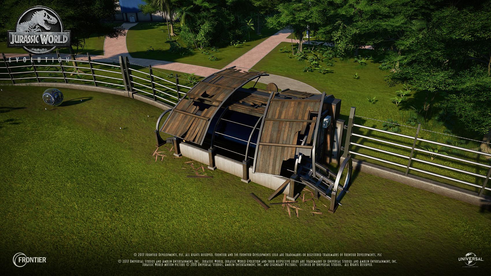 ArtStation - Jurassic World: Evolution, Chelsea Heslop