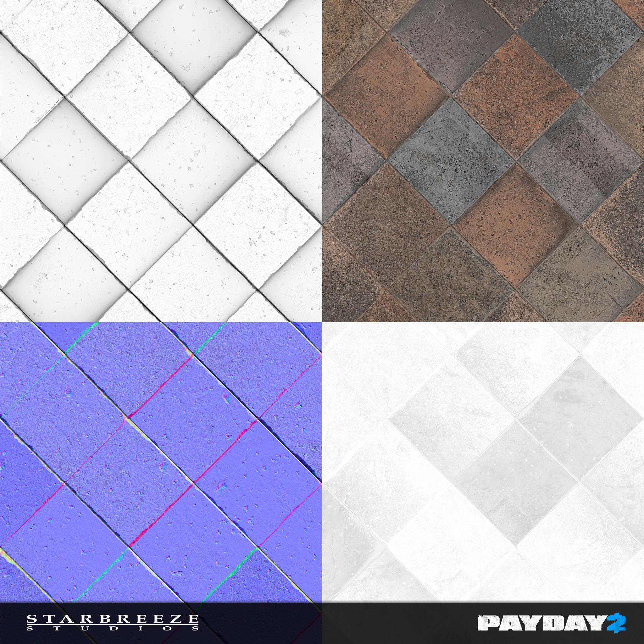 Floor Tile - Textures