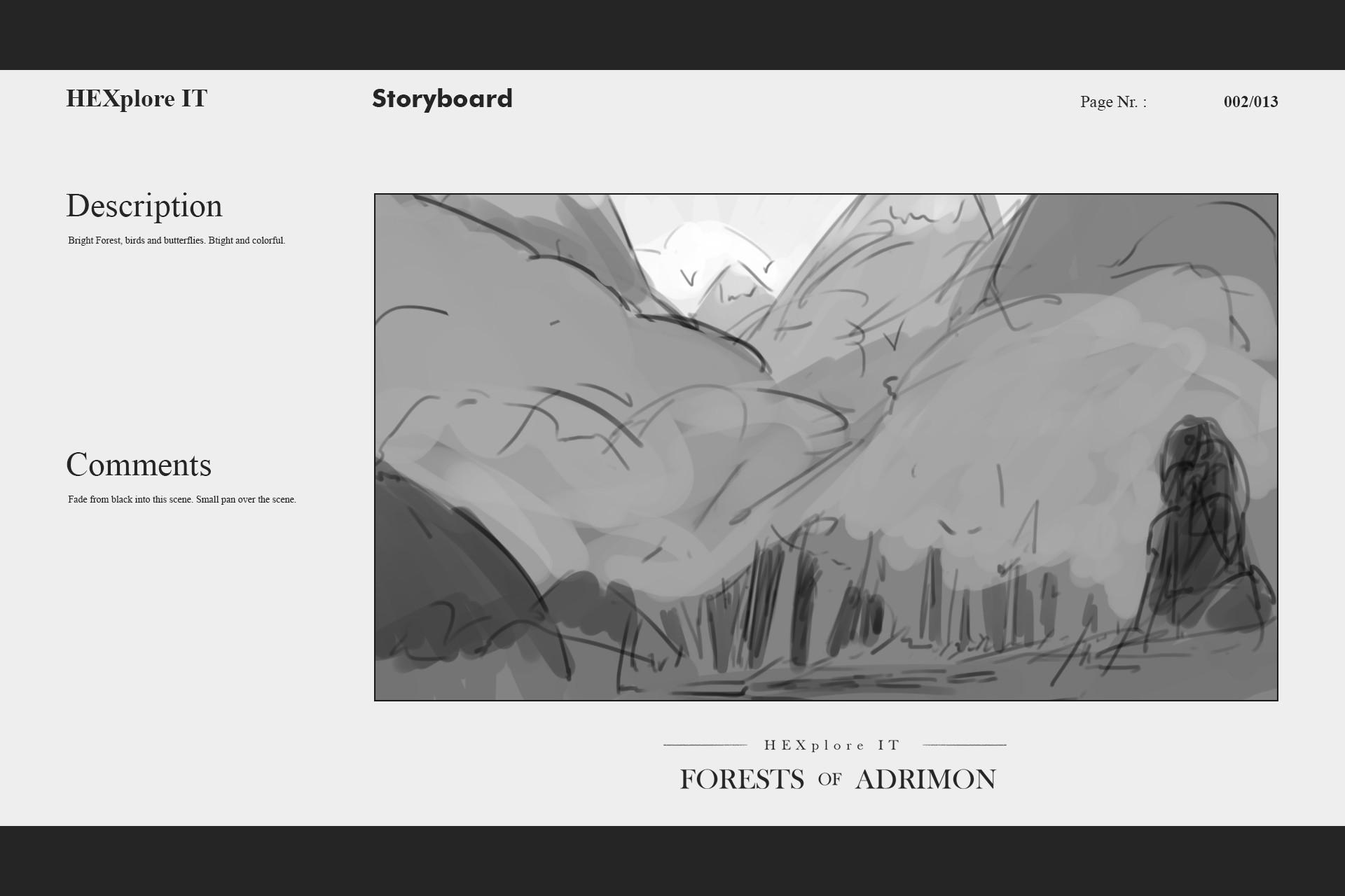 Konrx langa storyboard sketches 7