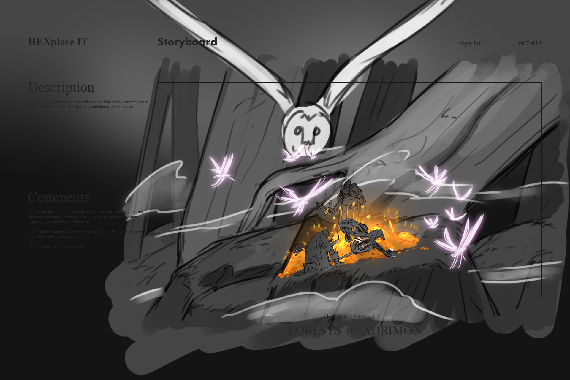 Konrx langa storyboard sketches 32