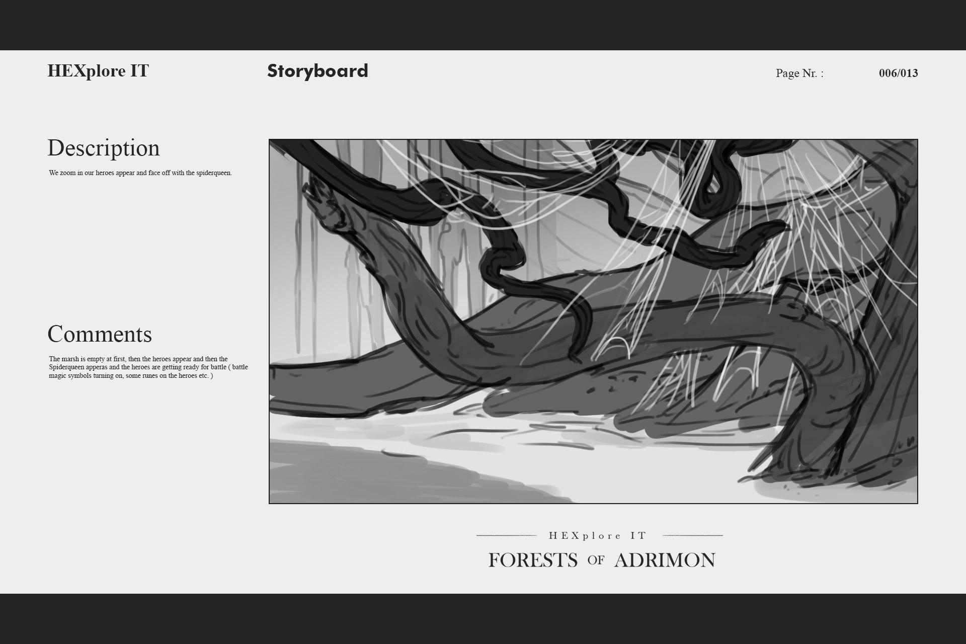 Konrx langa storyboard sketches 24