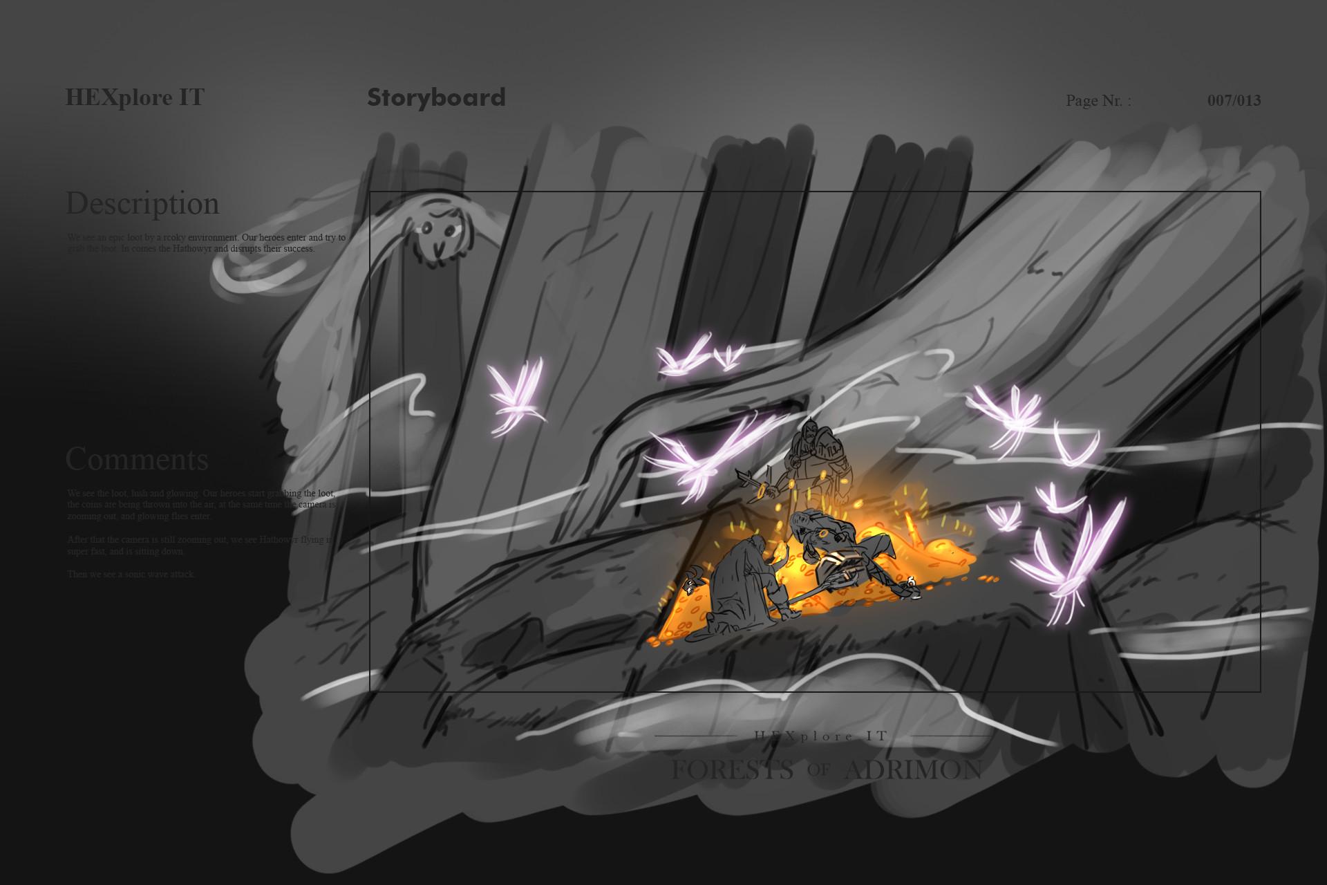 Konrx langa storyboard sketches 30