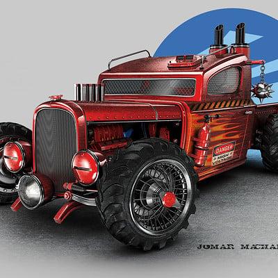 Jomar machado hot pick up color