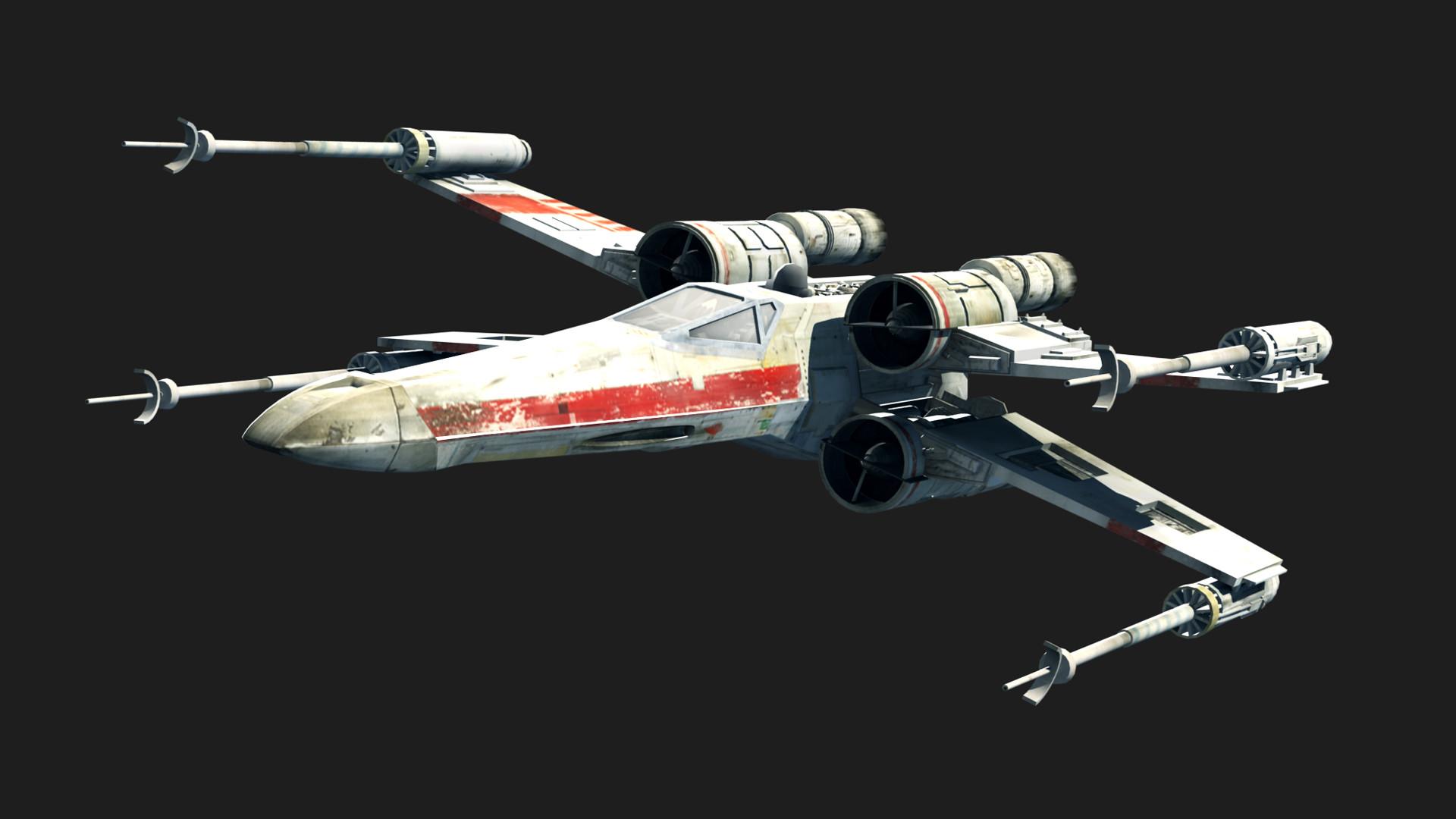 ArtStation - Star Wars Rogue Leader vehicles, Bastian Hoppe