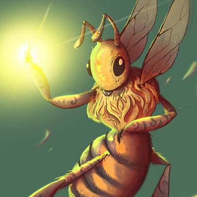 Axel mounier insect warrior1