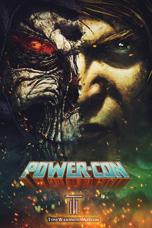 Tony washington powercon poster