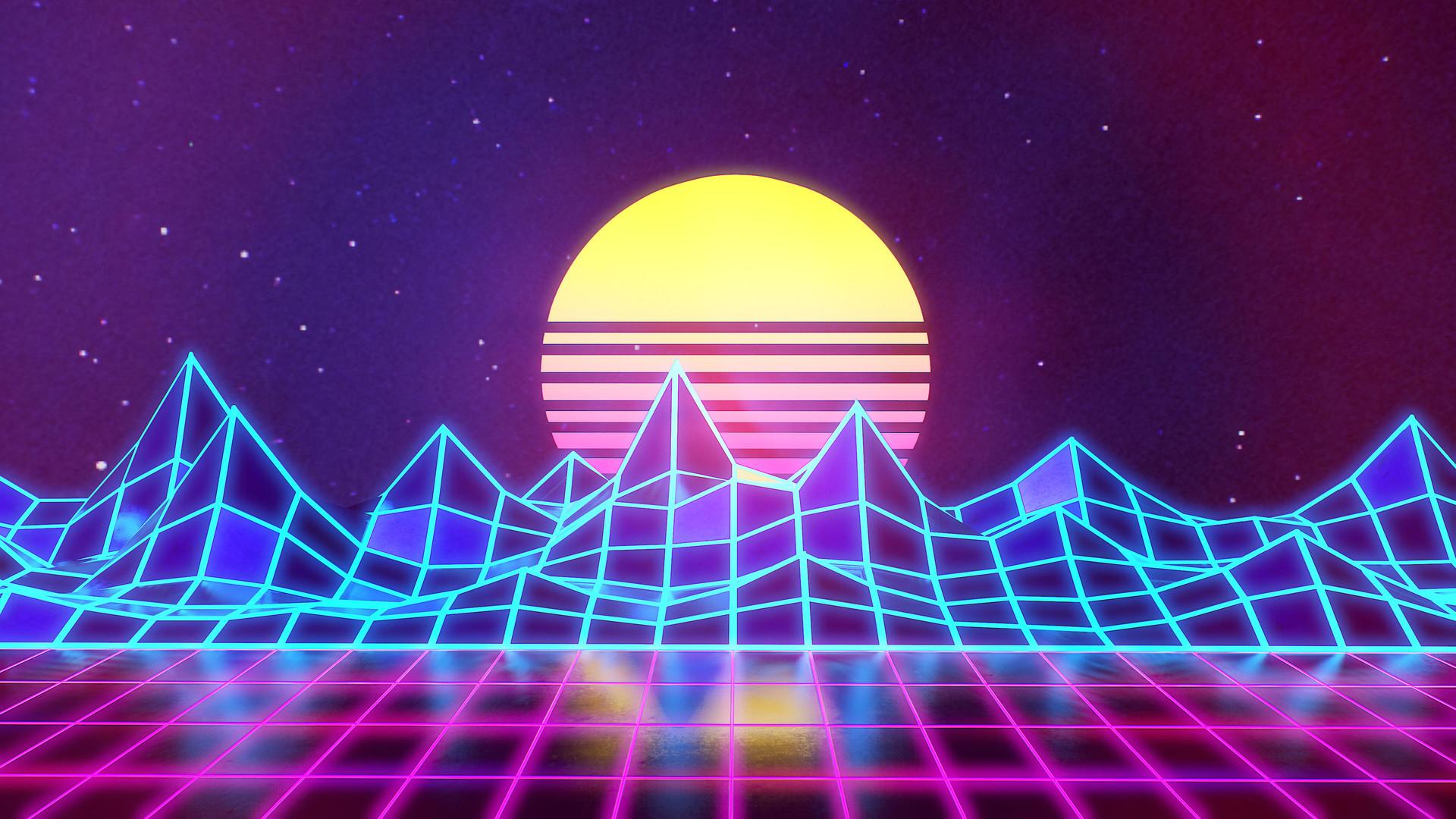 Rafaël De Jongh - Synthwave - Neon 80's - Background