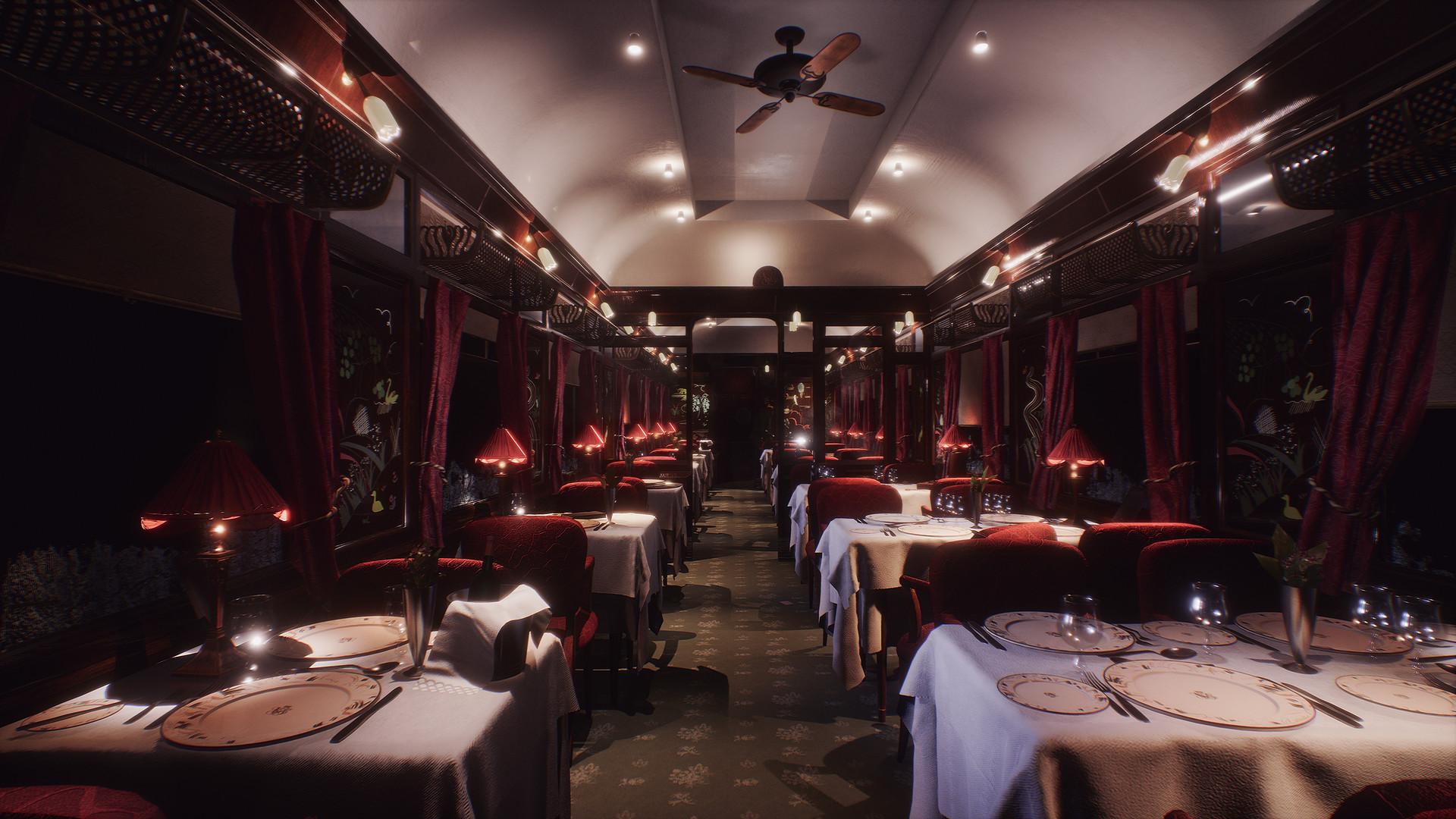 Artstation Murder On The Orient Express Lorna Blythe