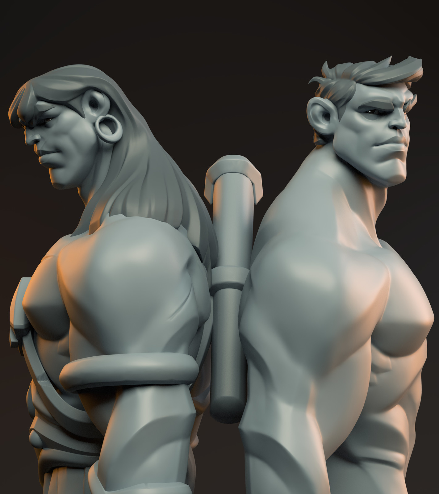 CONAN - Stylized Male Anatomy