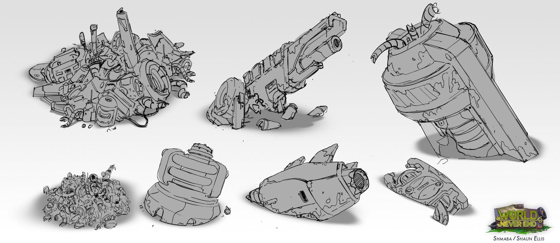 Shaun ellis concept sketchesjunk1