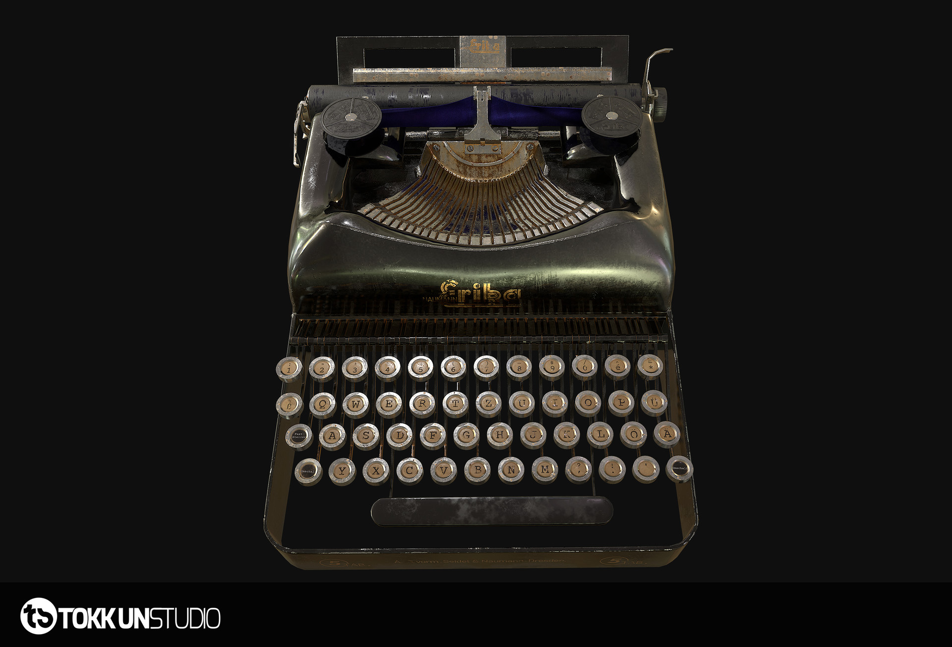 Tokkun studio beauty typewriter 07