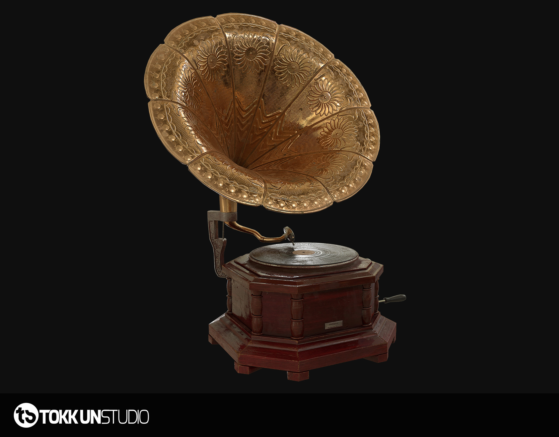 Tokkun studio beauty gramophone 01