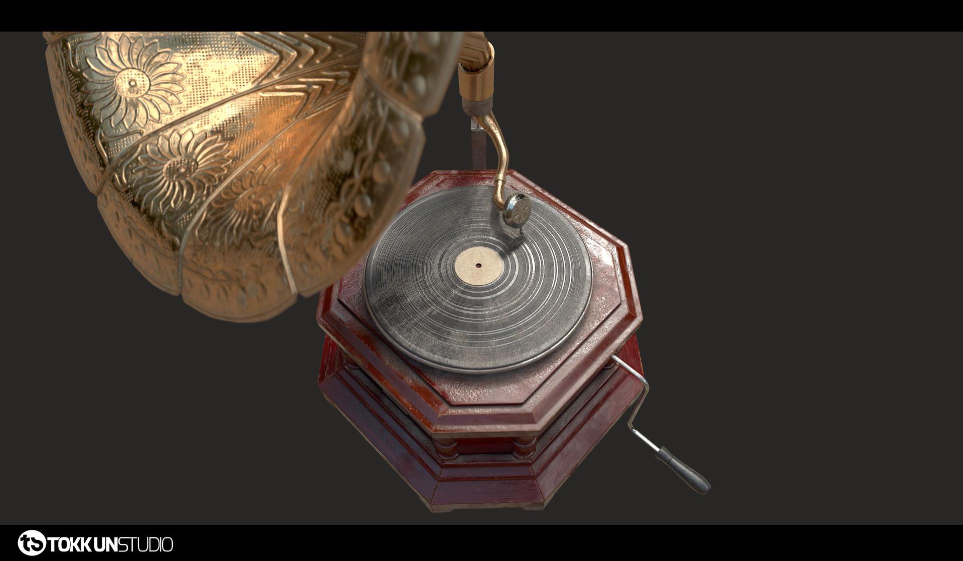 Tokkun studio tokkunstudio gramophone 05