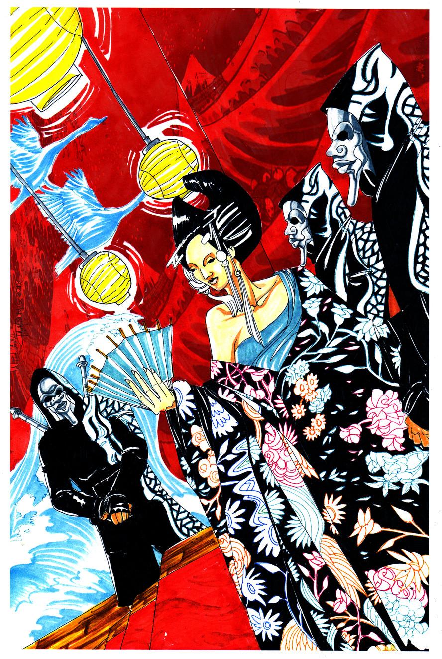 Afromation art lotus momo