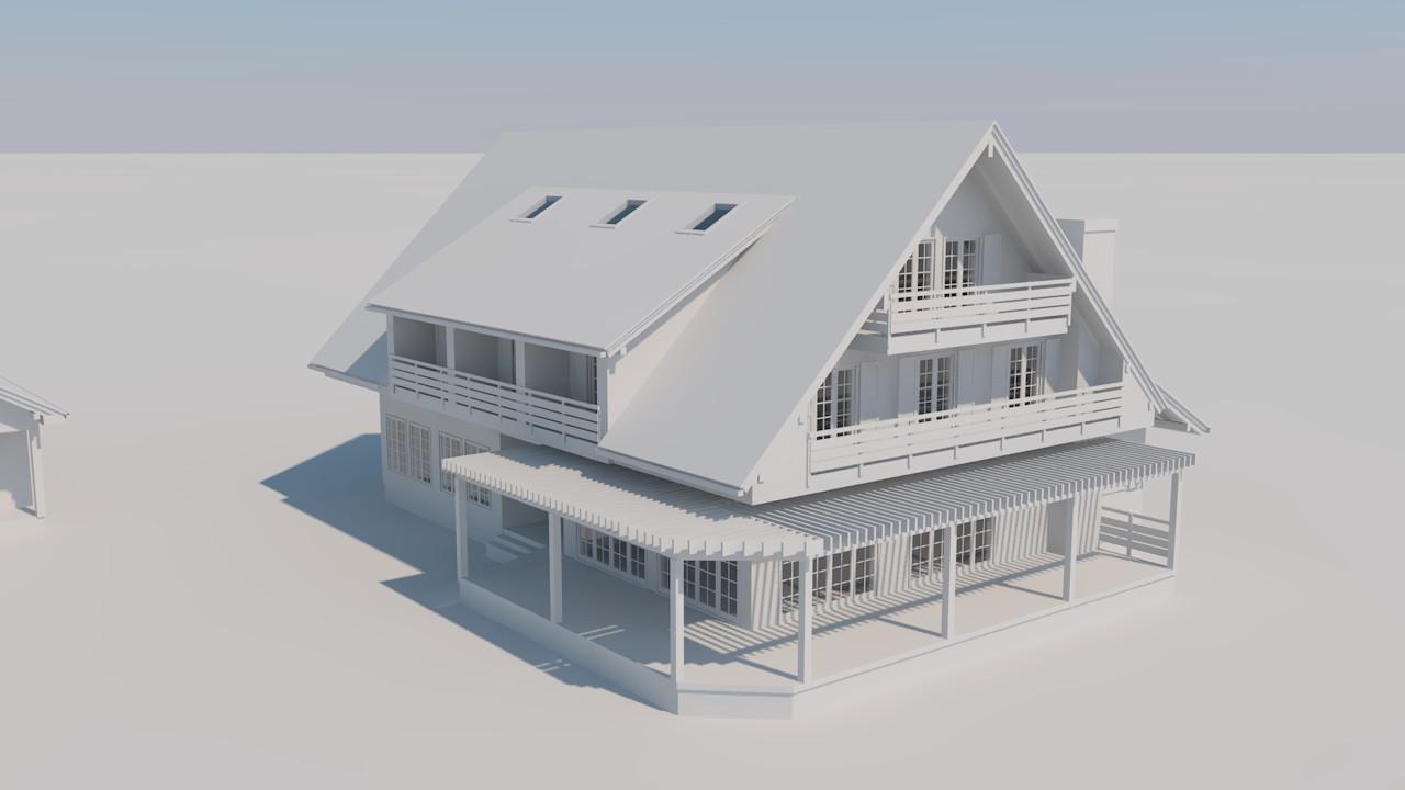 Alan kichl buildings clay render 06