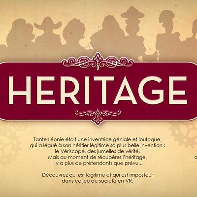 Natacha lefevre heritage visuel presentation