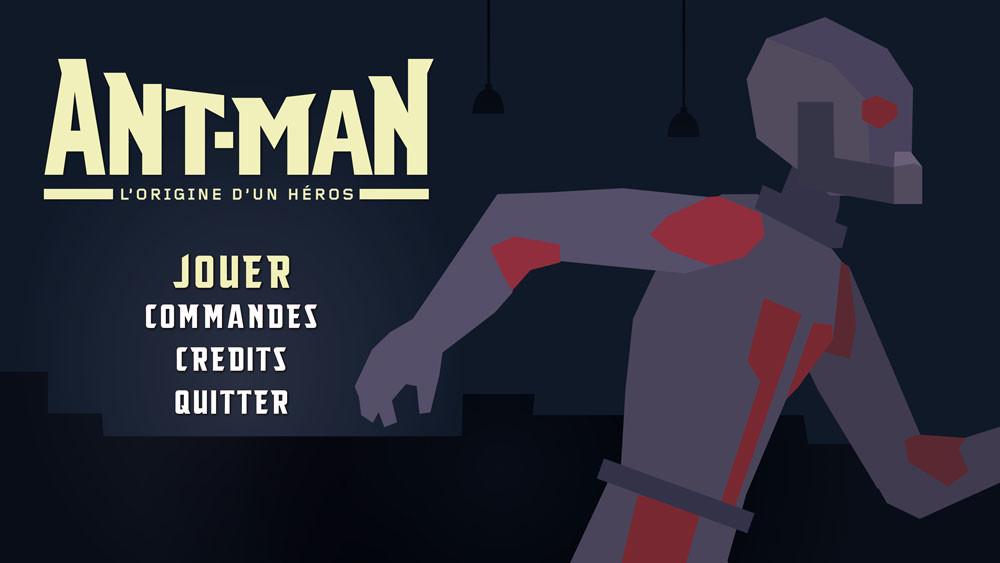 Antman is a platformer 2D